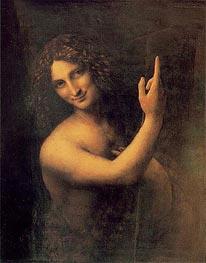 Johannes der Täufer | Leonardo da Vinci | Gemälde Reproduktion