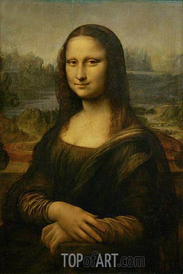 Mona Lisa (La Gioconda), c.1503/06 | Leonardo da Vinci| Painting Reproduction
