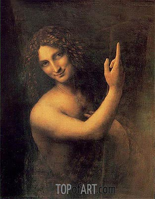 St John the Baptist, c.1513/16 | Leonardo da Vinci | Painting Reproduction