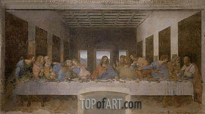 Last Supper, c.1495/98 | Leonardo da Vinci | Painting Reproduction