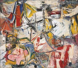 Gotham News (de Kooning) | Custom Paintings | Painting Reproduction