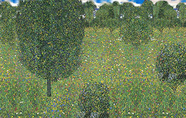 Meadow in Flowers (Inspired by Klimt), undated by Custom Paintings | Painting Reproduction