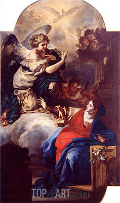 The Annunciation,  | Custom Paintings | Painting Reproduction