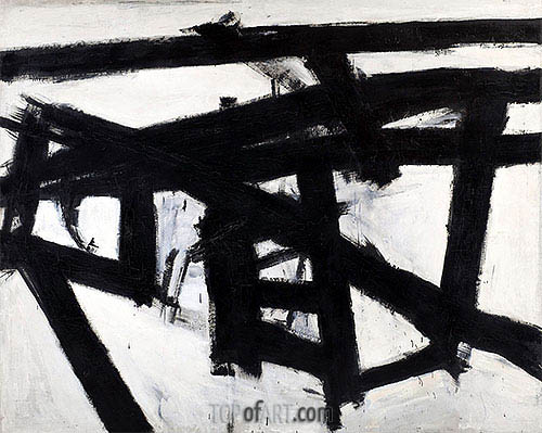 Custom Paintings | Mahoning (Franz Kline), 1956