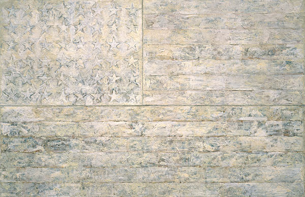 Custom Paintings | White Flag by Jasper Johns, 1966