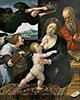 Die heilige Familie, 1522 | Bernaert van Orley