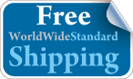 Free WorldWide Standard Shipping