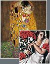 Secession, Symbolism & Art Deco Art Reproductions and Canvas Prints