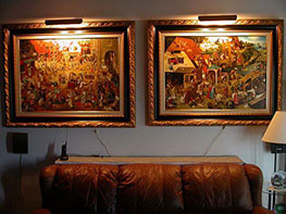 Bruegel Painting Reproductions for Living Room 1