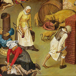 Bruegel Painting Reproductions for Living Room 9