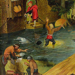 Bruegel Painting Reproductions for Living Room 16