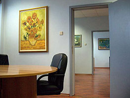 Wall Decoration of Office Premises - Image 1