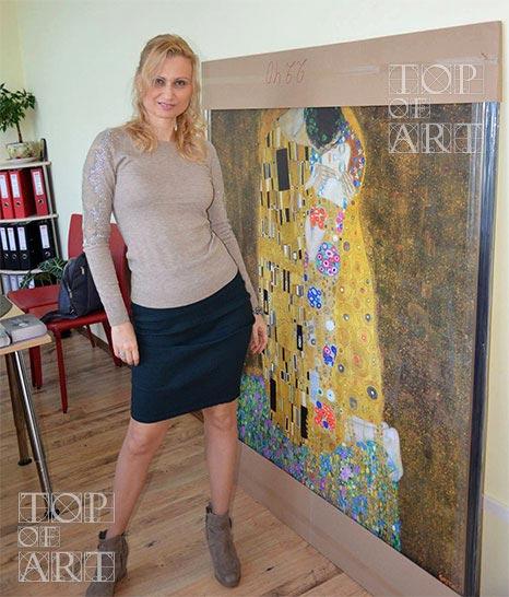 Painting Reproduction - The Kiss - Klimt