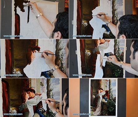 Romeo and Juliet by Dicksee - Painting Reproduction