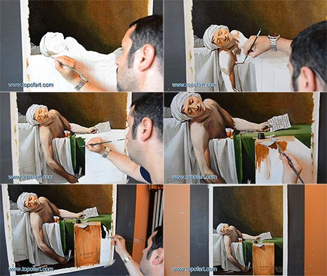 The Death of Marat by David - Painting Reproduction
