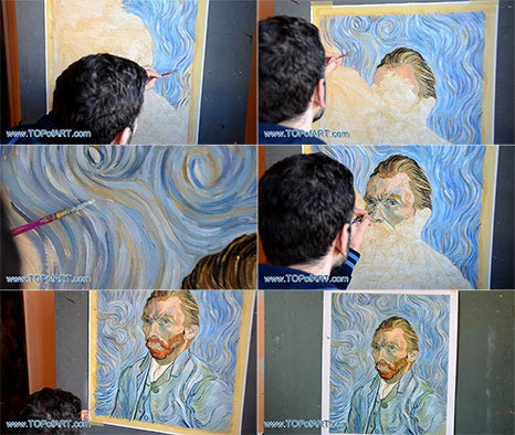 Vincent van Gogh's Self-Portrait - Painting Reproduction