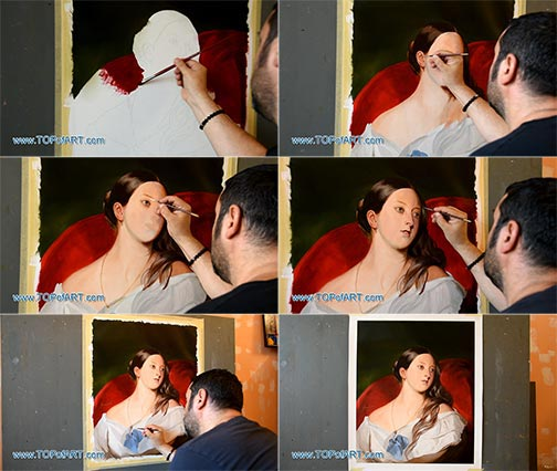 Queen Victoria by Winterhalter - Painting Reproduction