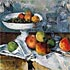 Still Life with Fruit Dish - Cezanne - Home